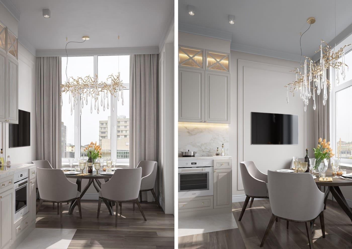 красивый дизайн кухни 24