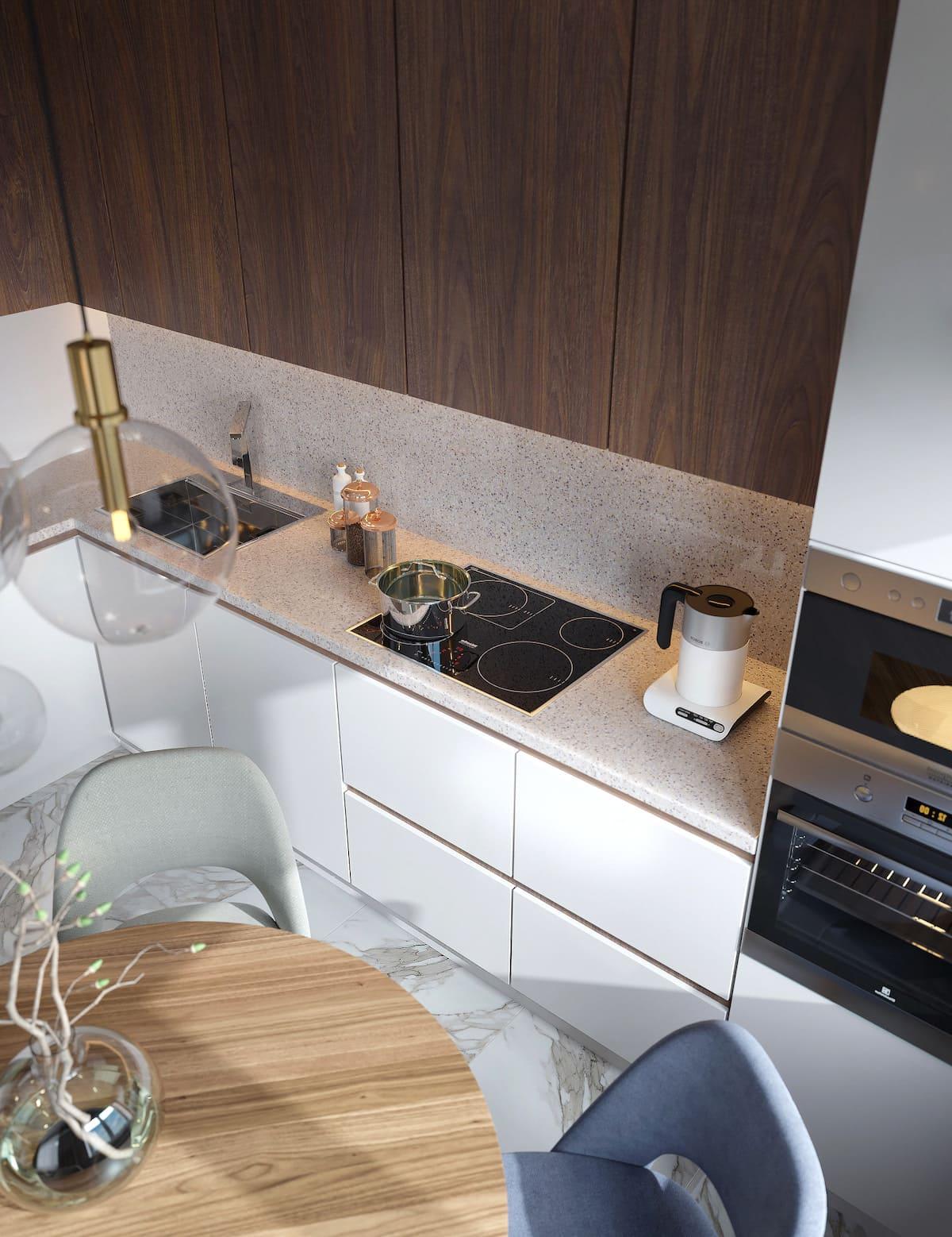 красивый дизайн кухни 50