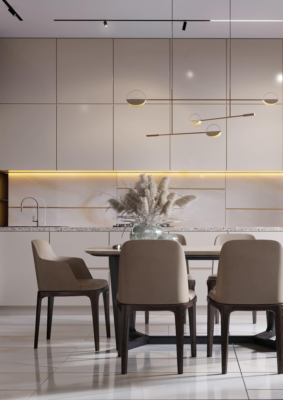 красивый дизайн кухни 79