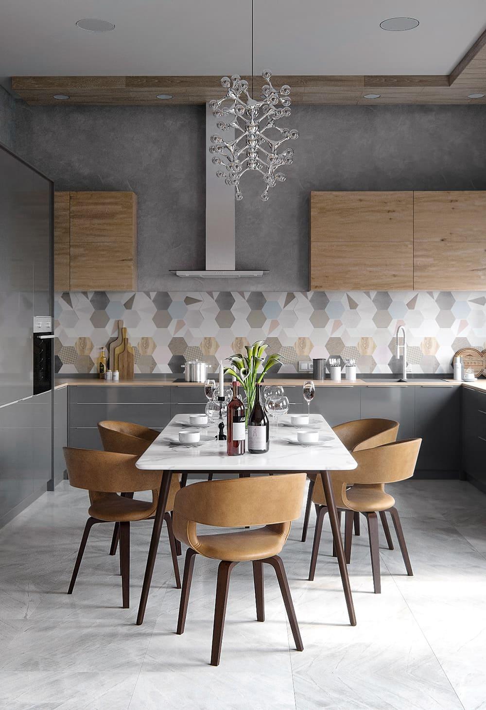 красивый дизайн кухни 36