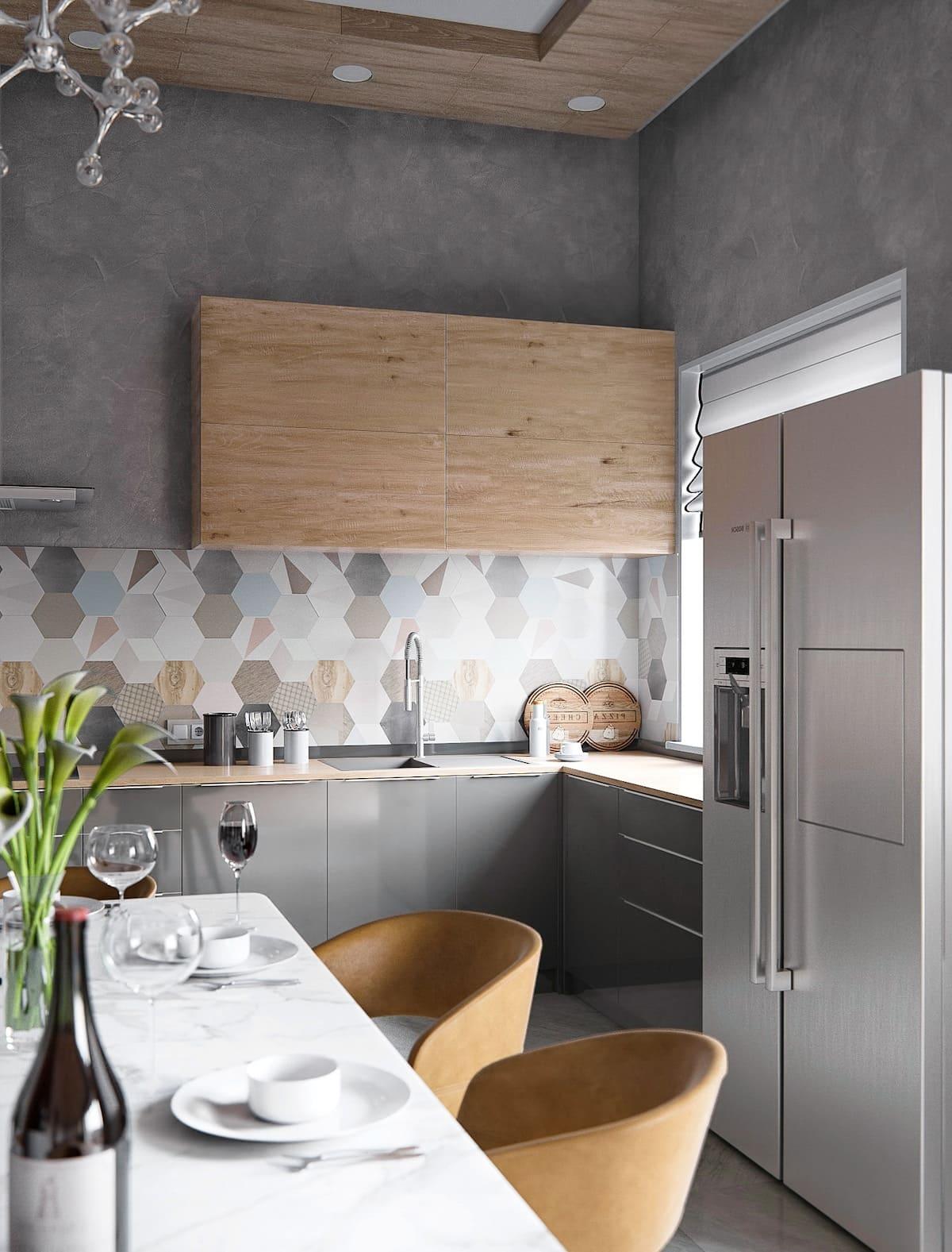 красивый дизайн кухни 38