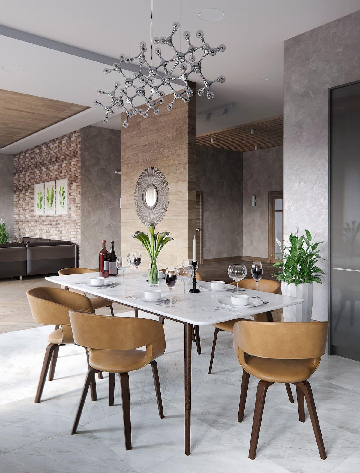 красивый дизайн кухни 39
