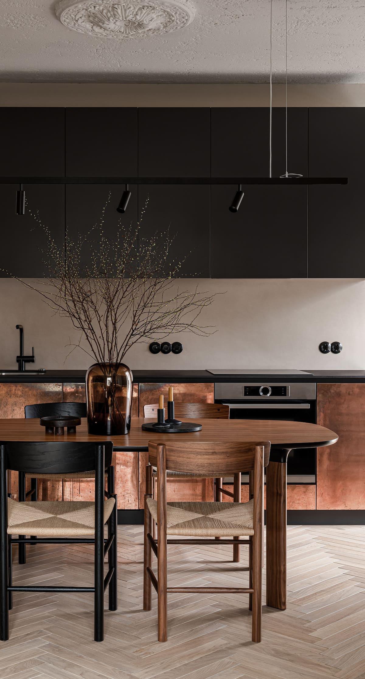 красивый дизайн кухни 100