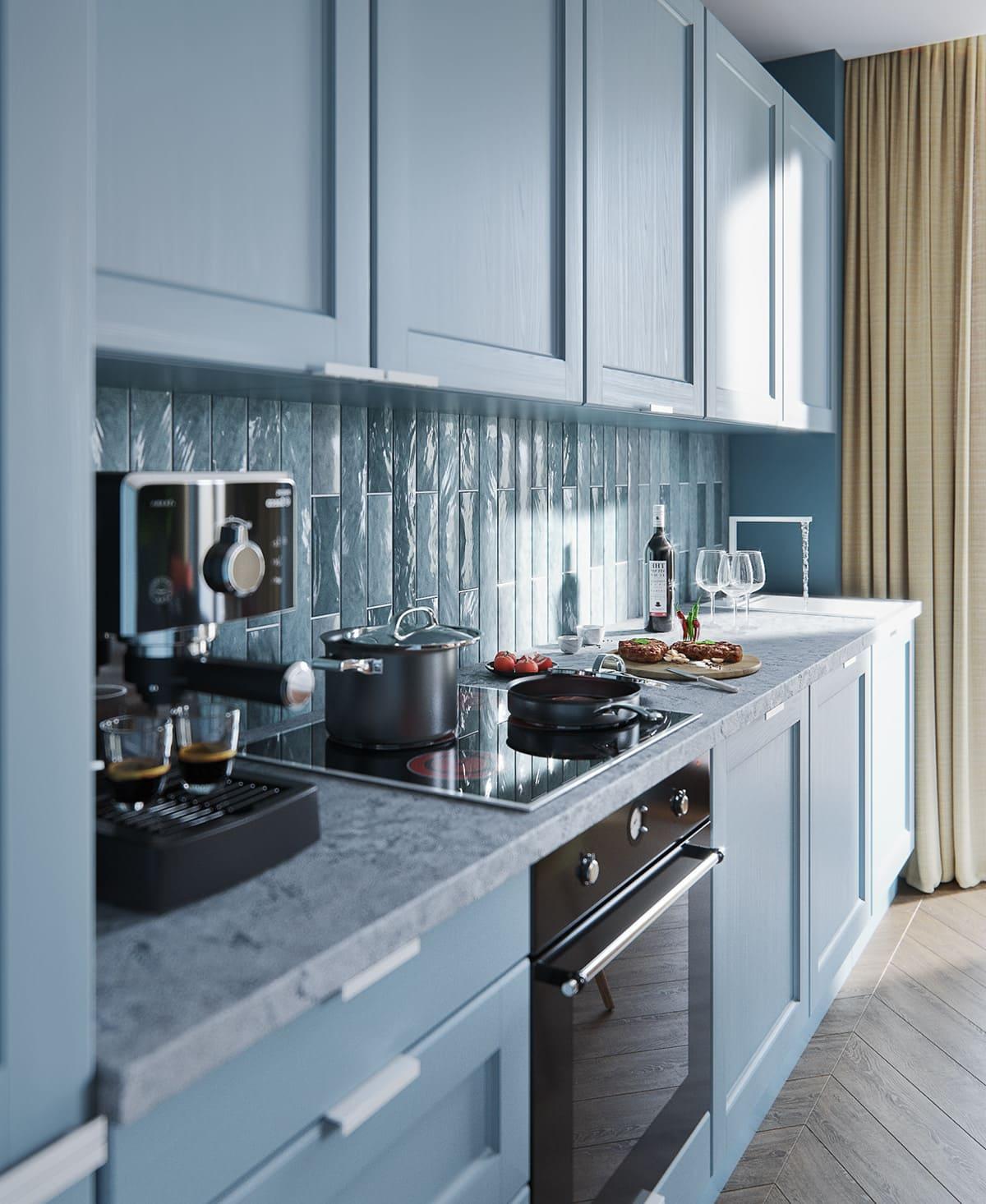 красивый дизайн кухни 18