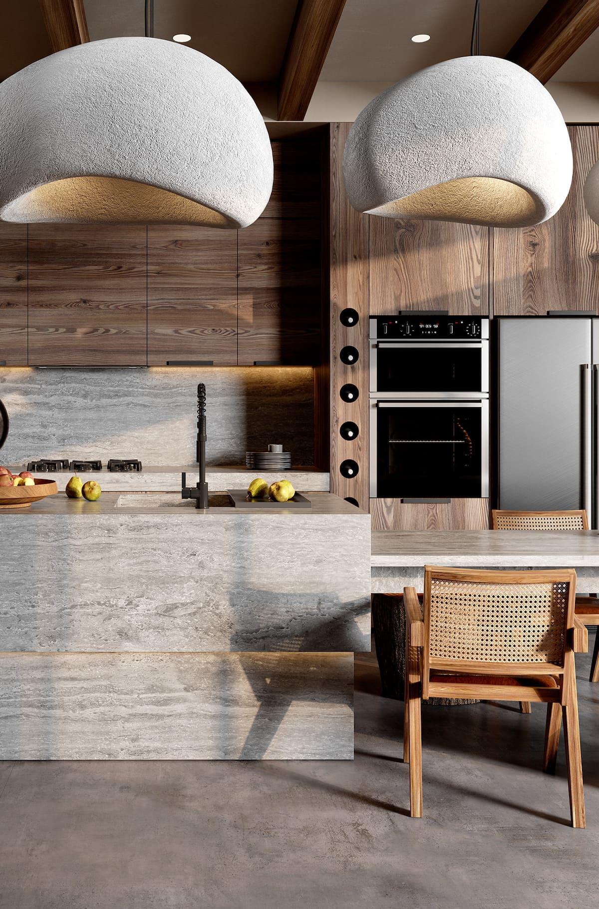 красивый дизайн кухни 53