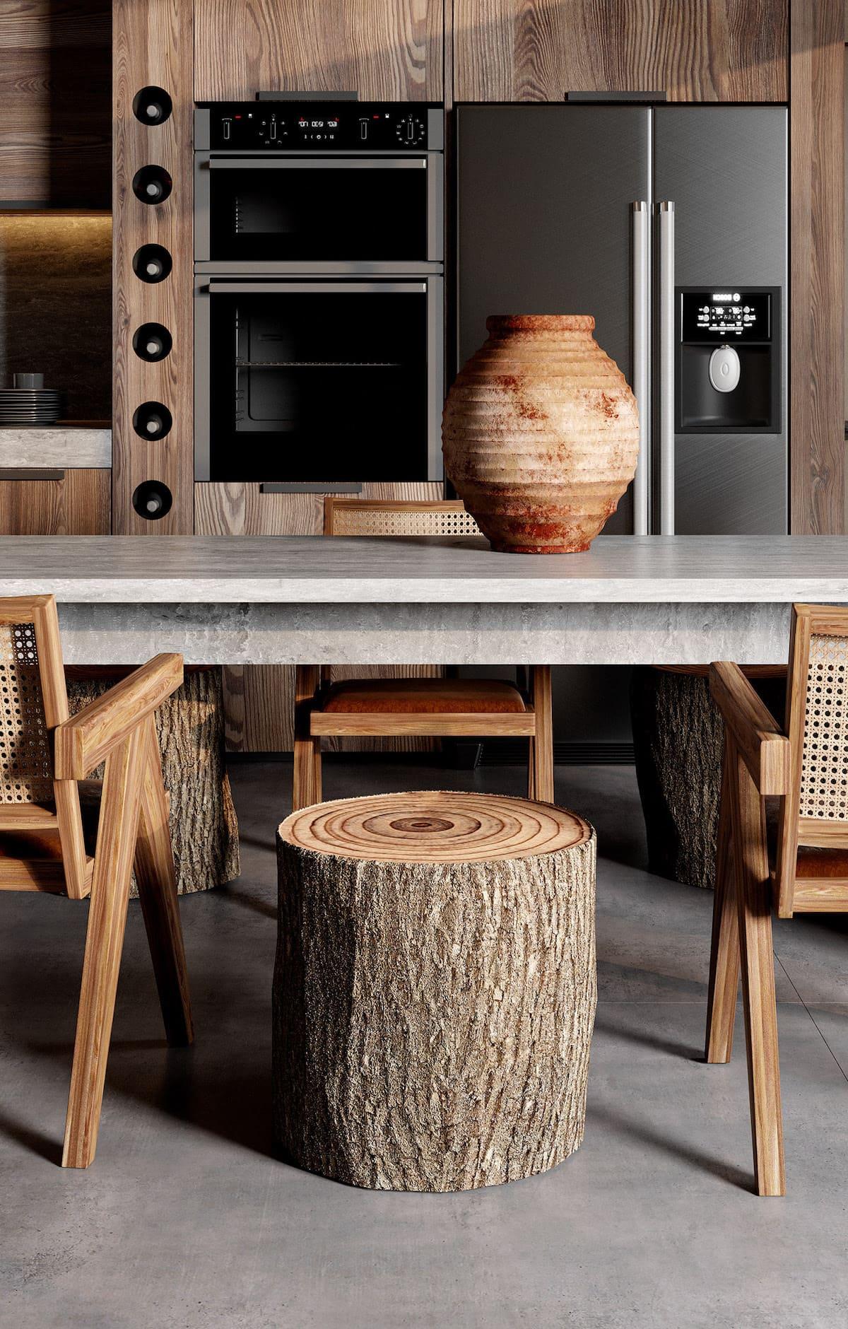 красивый дизайн кухни 55