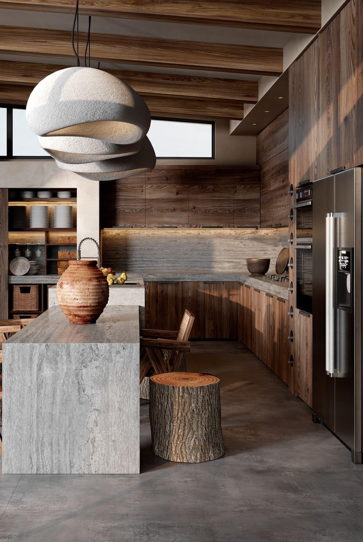 красивый дизайн кухни 57