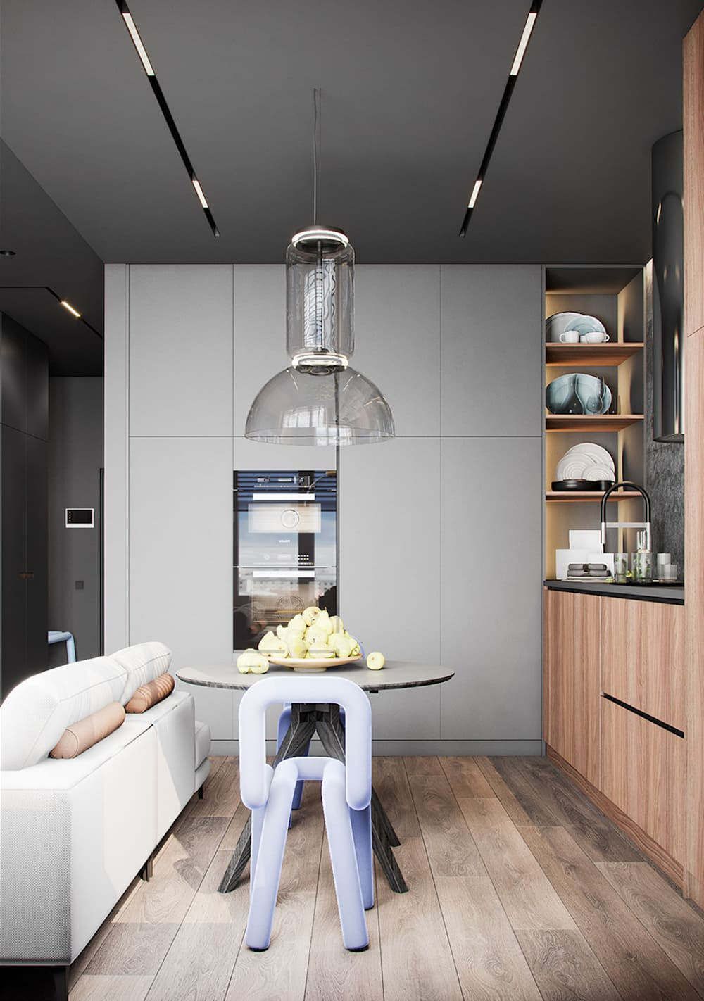 красивый дизайн кухни 31