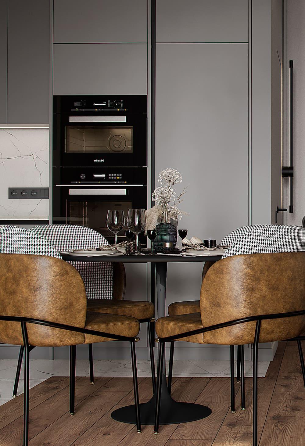 красивый дизайн кухни 83