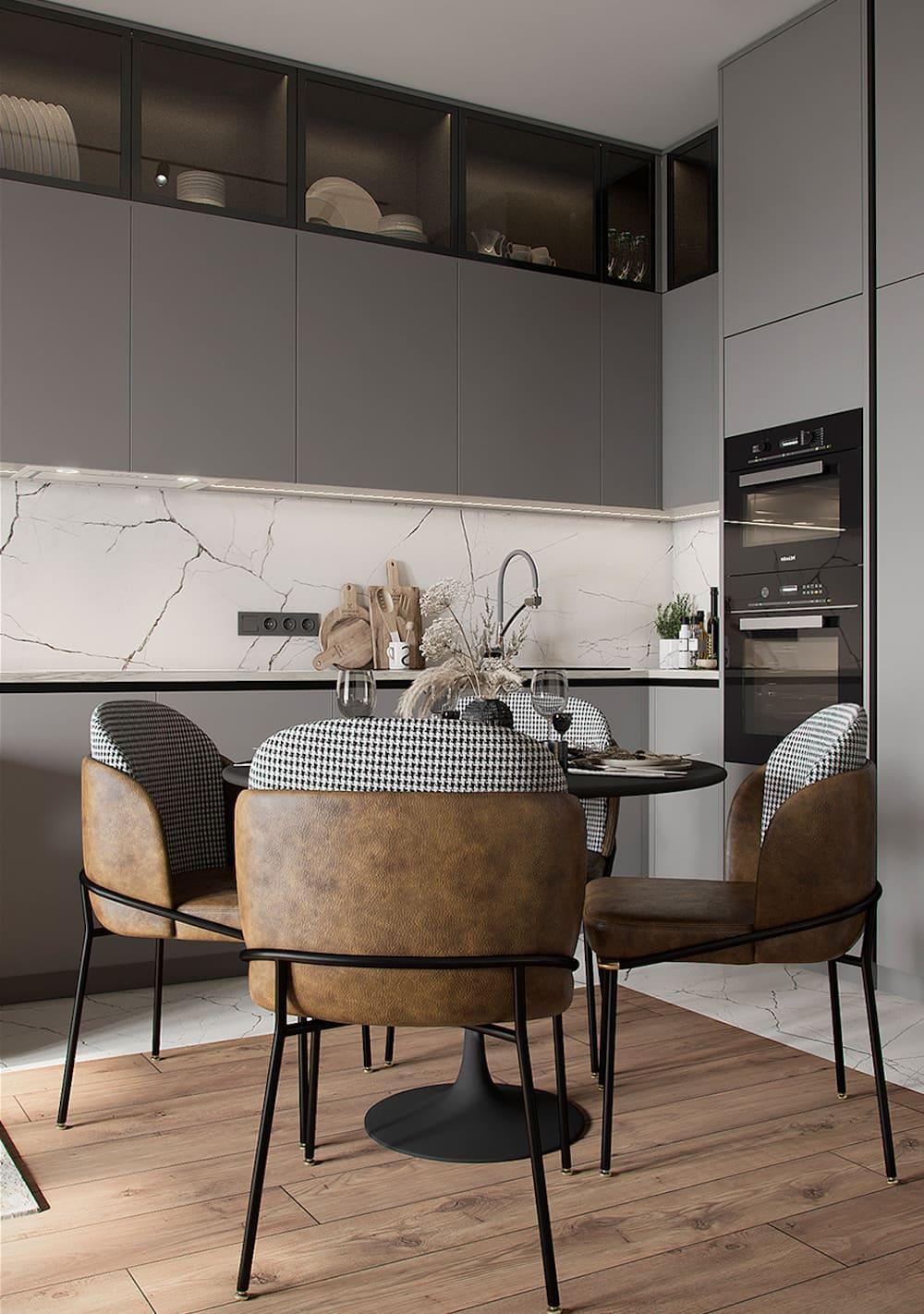красивый дизайн кухни 84
