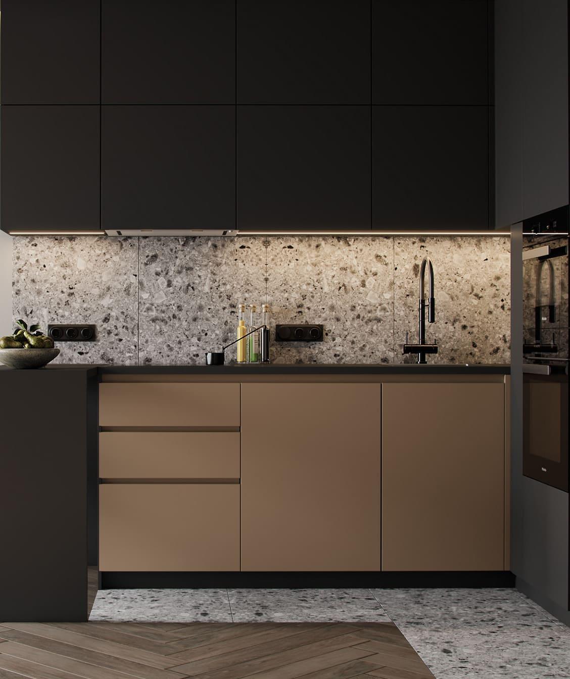 красивый дизайн кухни 85
