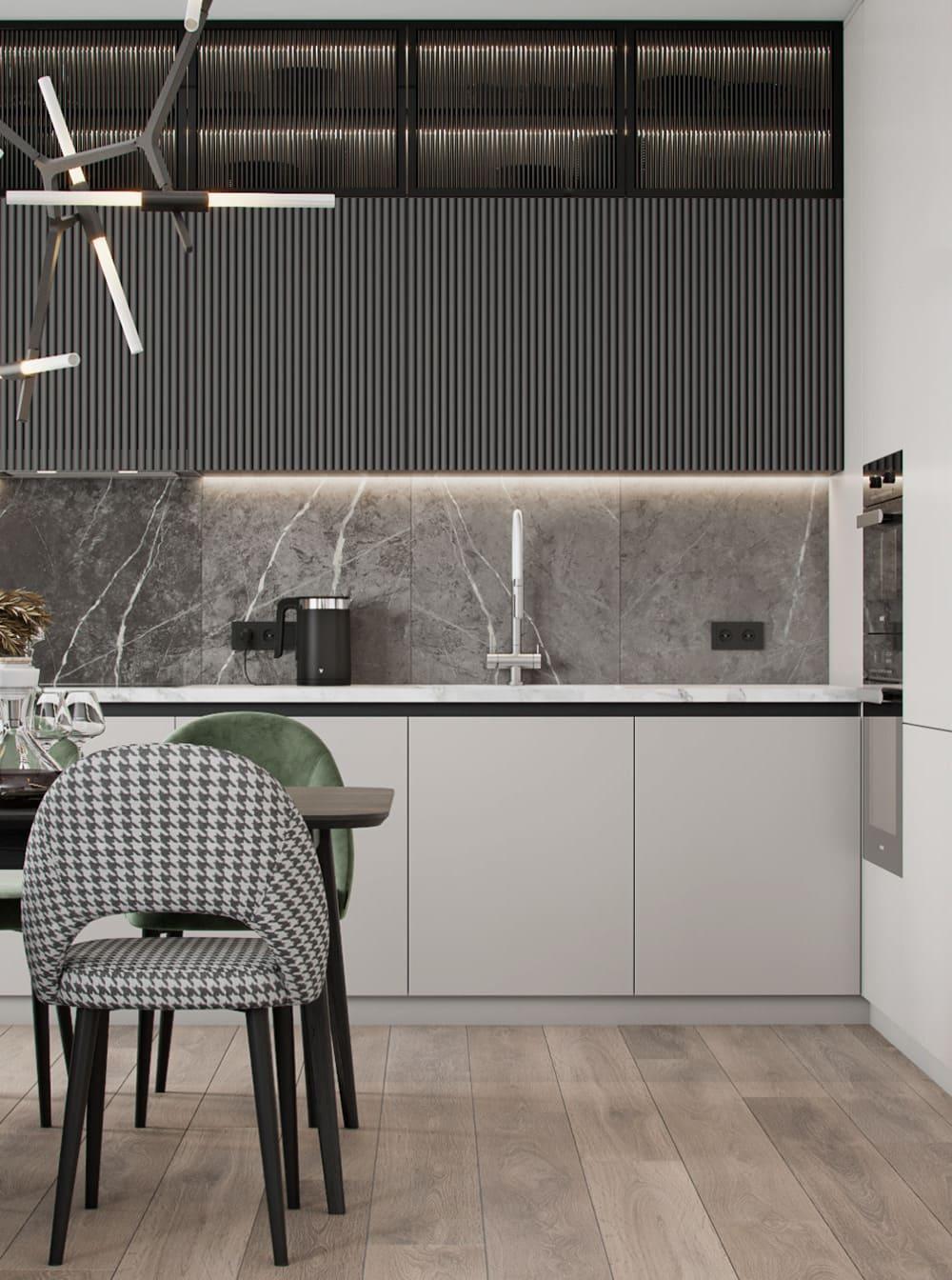 красивый дизайн кухни 88