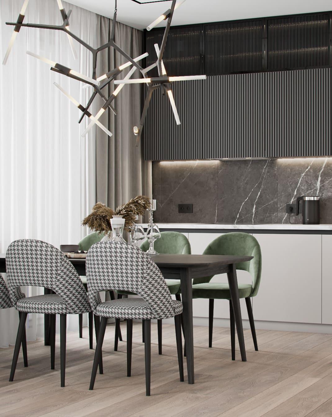 красивый дизайн кухни 89