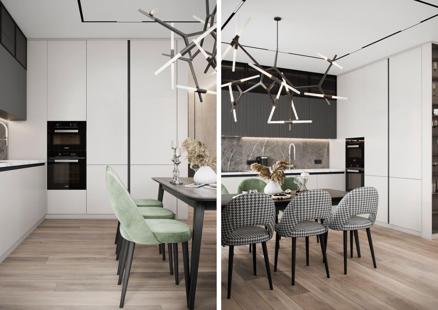 красивый дизайн кухни 91