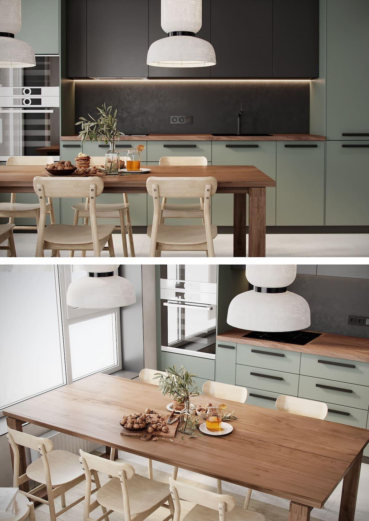 красивый дизайн кухни 45