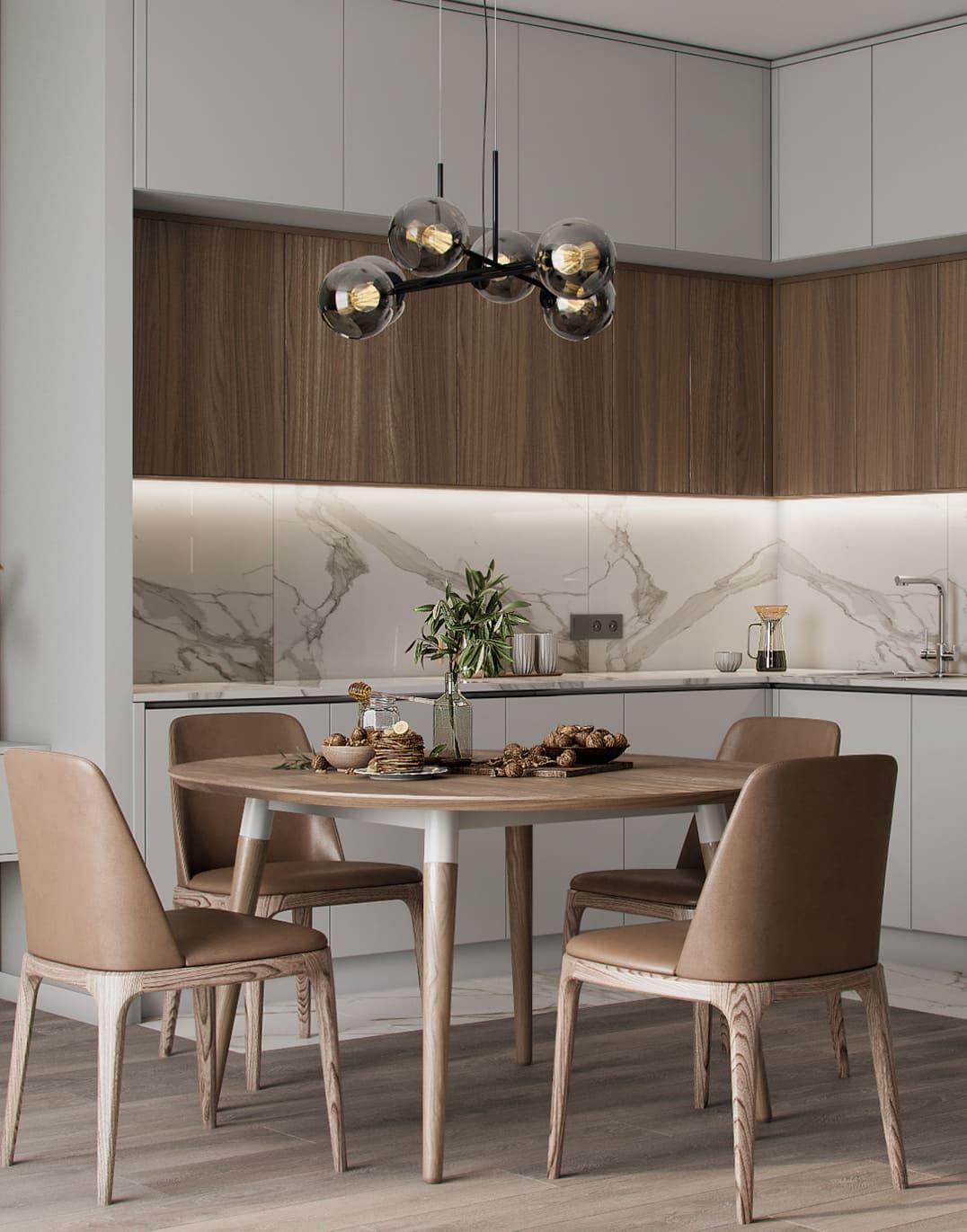красивый дизайн кухни 63