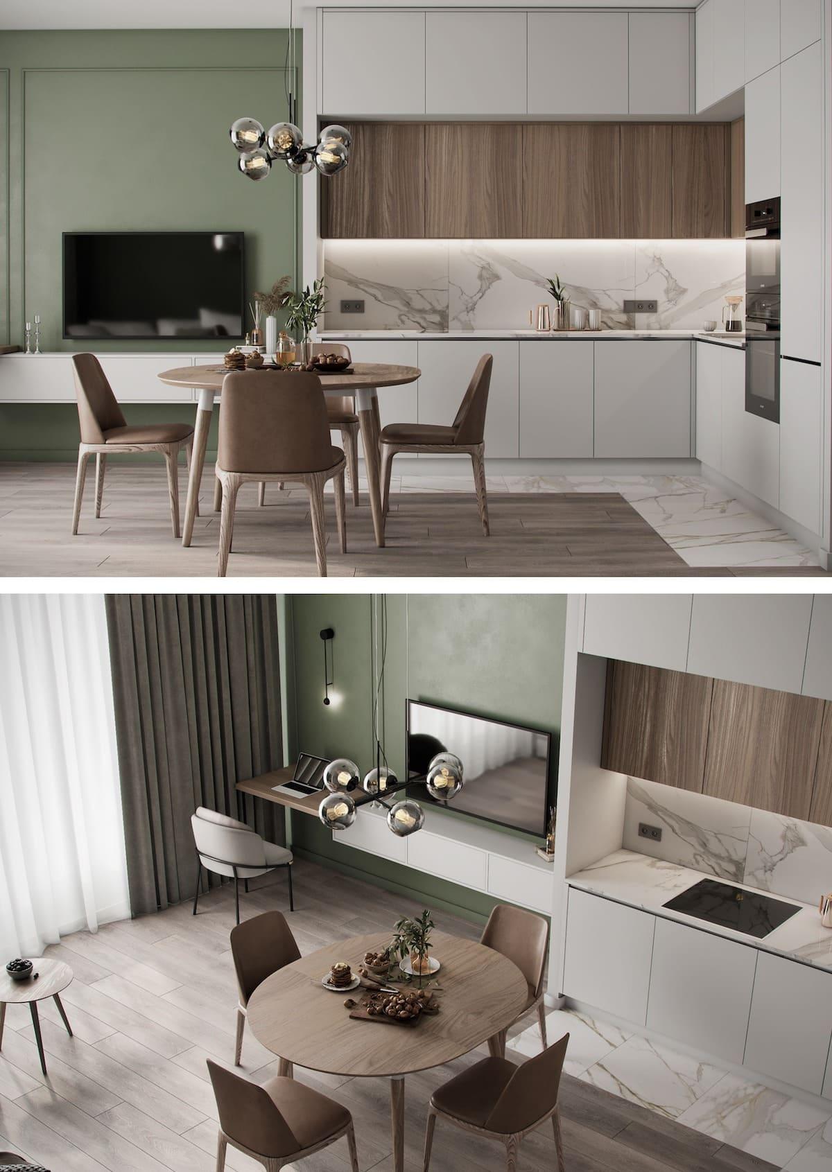 красивый дизайн кухни 64