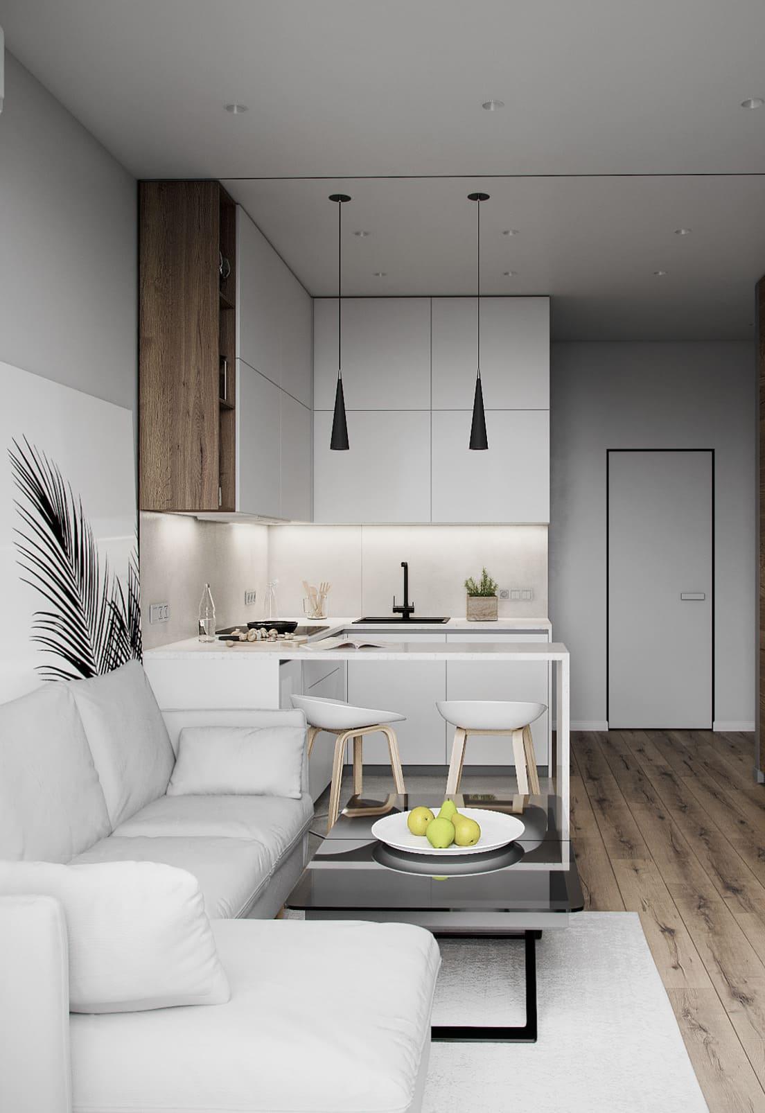 красивый дизайн кухни 67