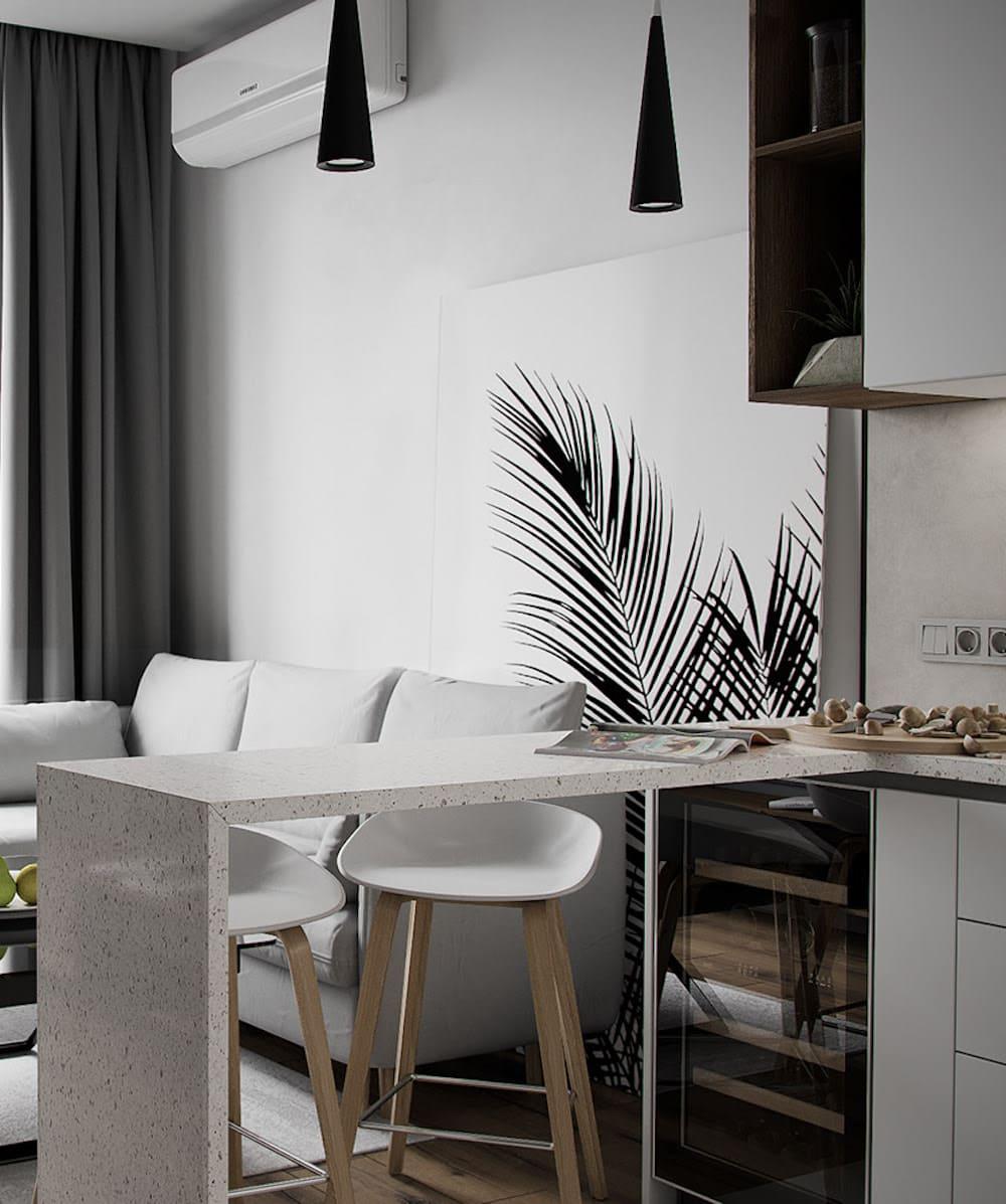 красивый дизайн кухни 68