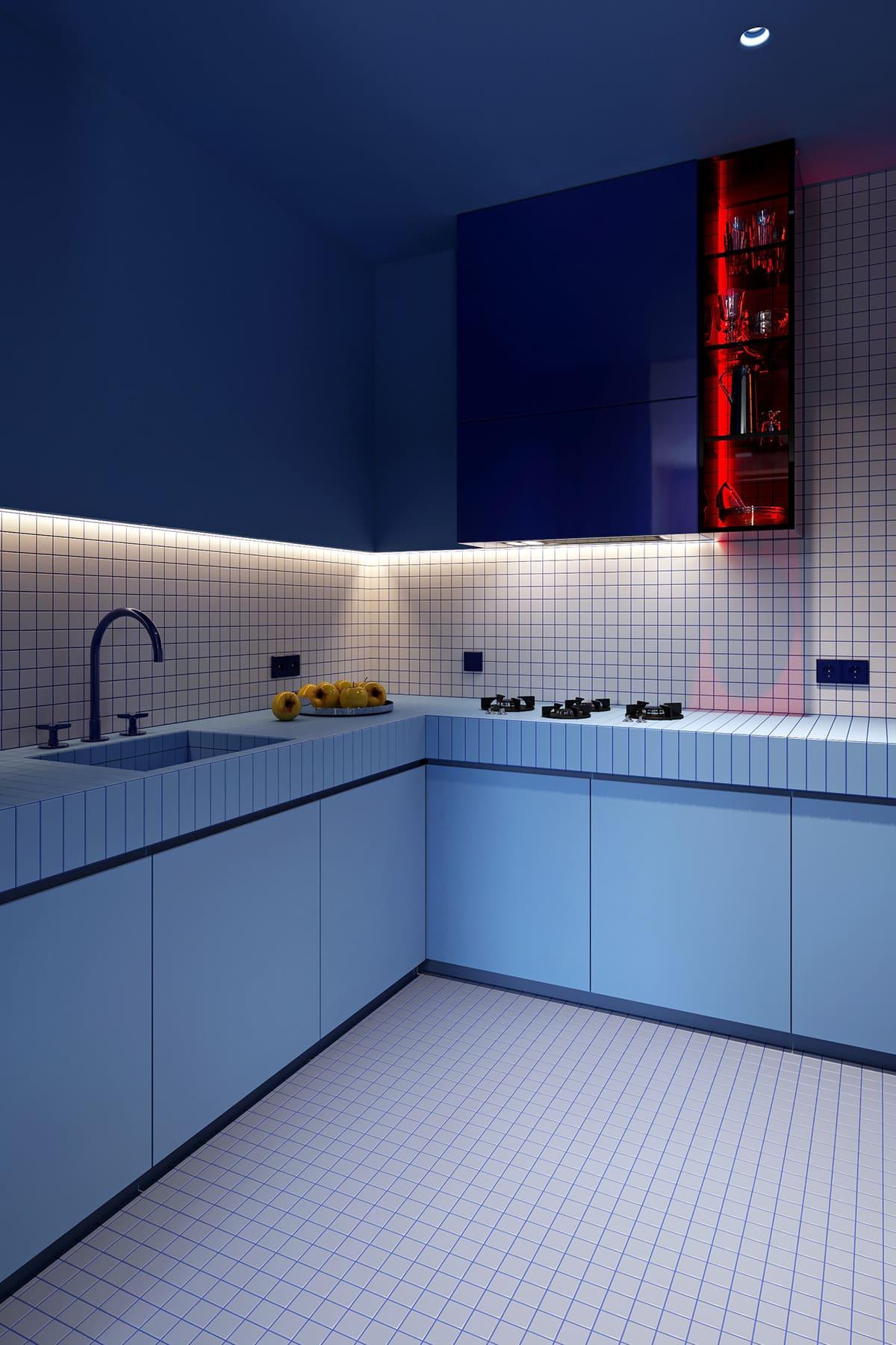 красивый дизайн кухни 44