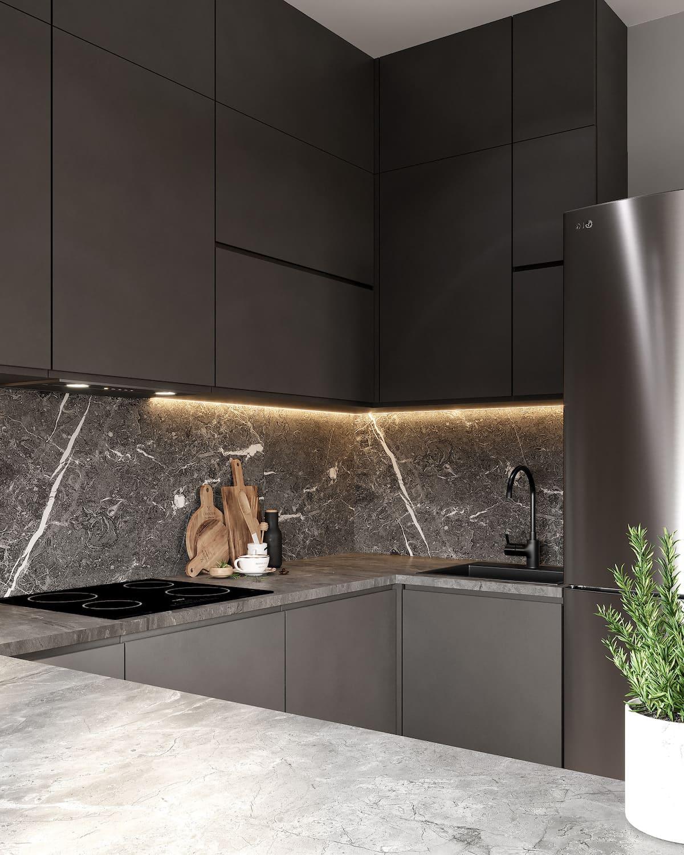 красивый дизайн кухни 9