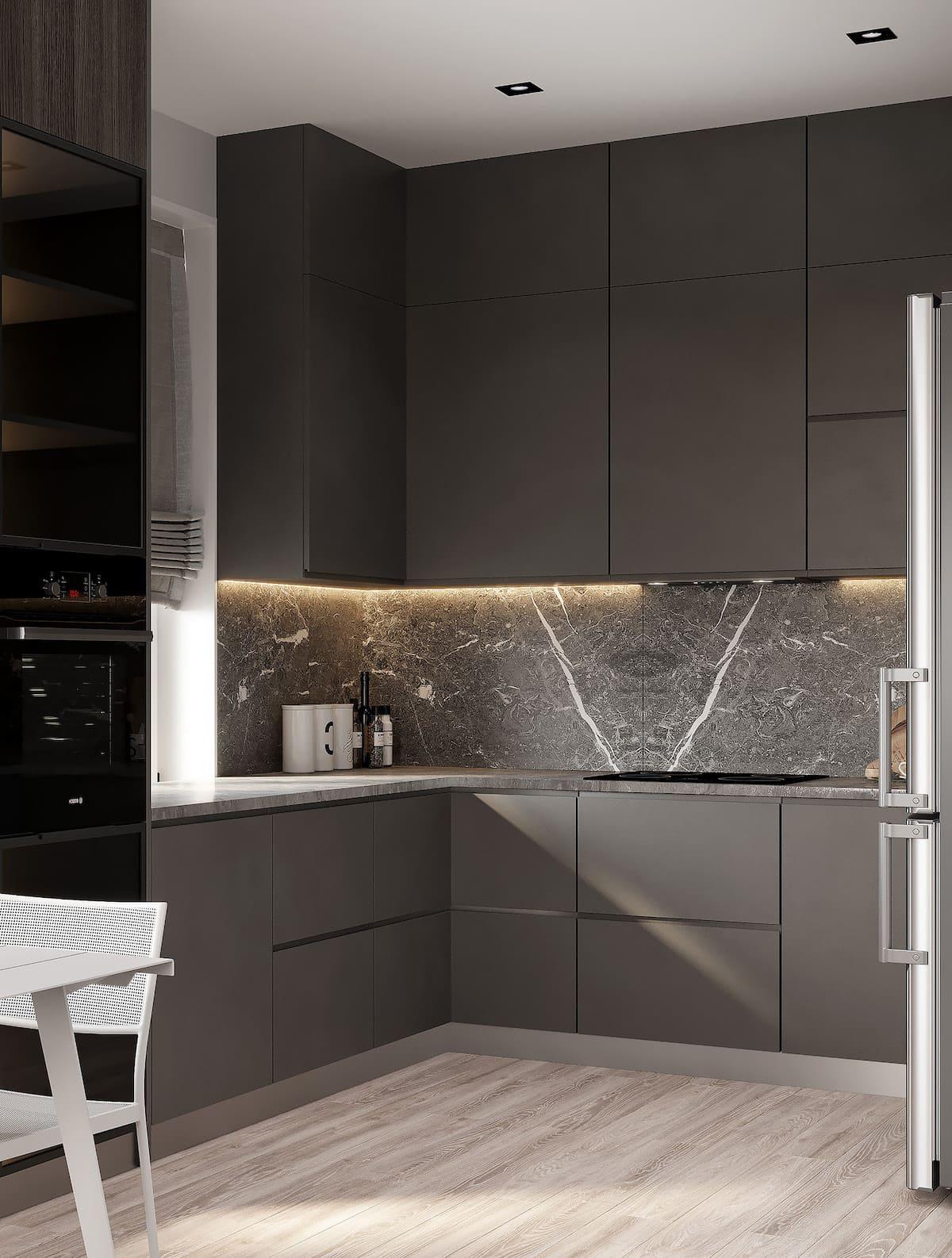 красивый дизайн кухни 11