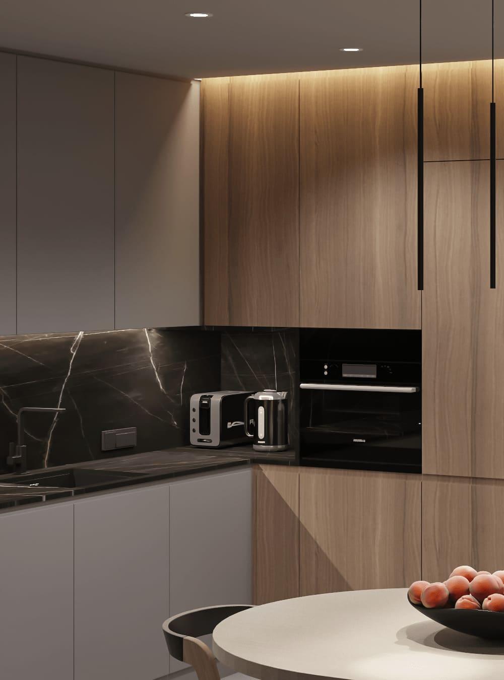 красивый дизайн кухни 12