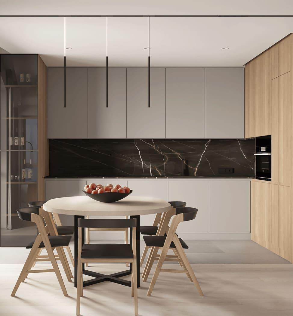красивый дизайн кухни 14