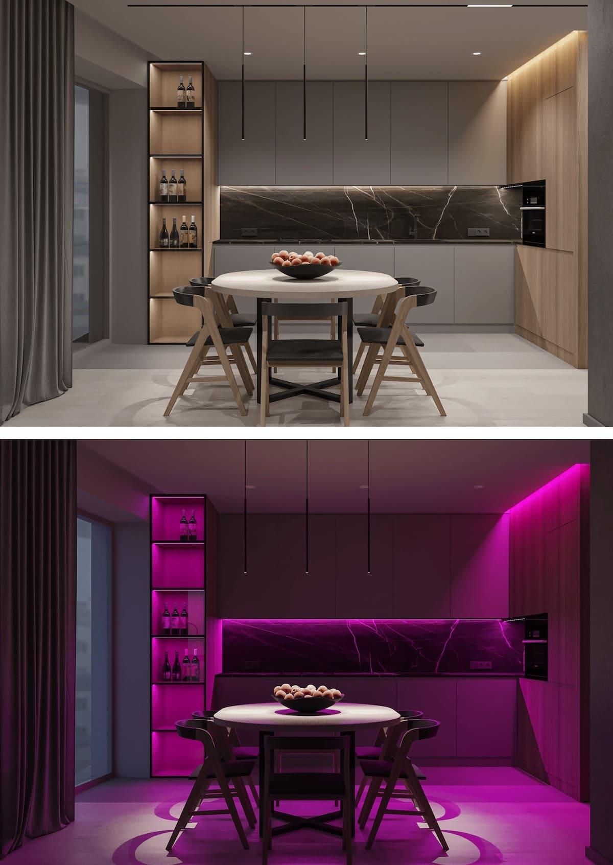 красивый дизайн кухни 16