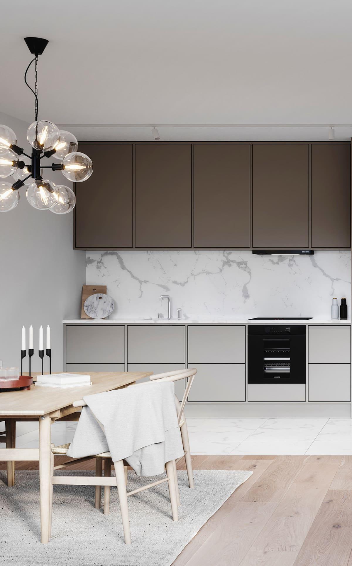 красивый дизайн кухни 2