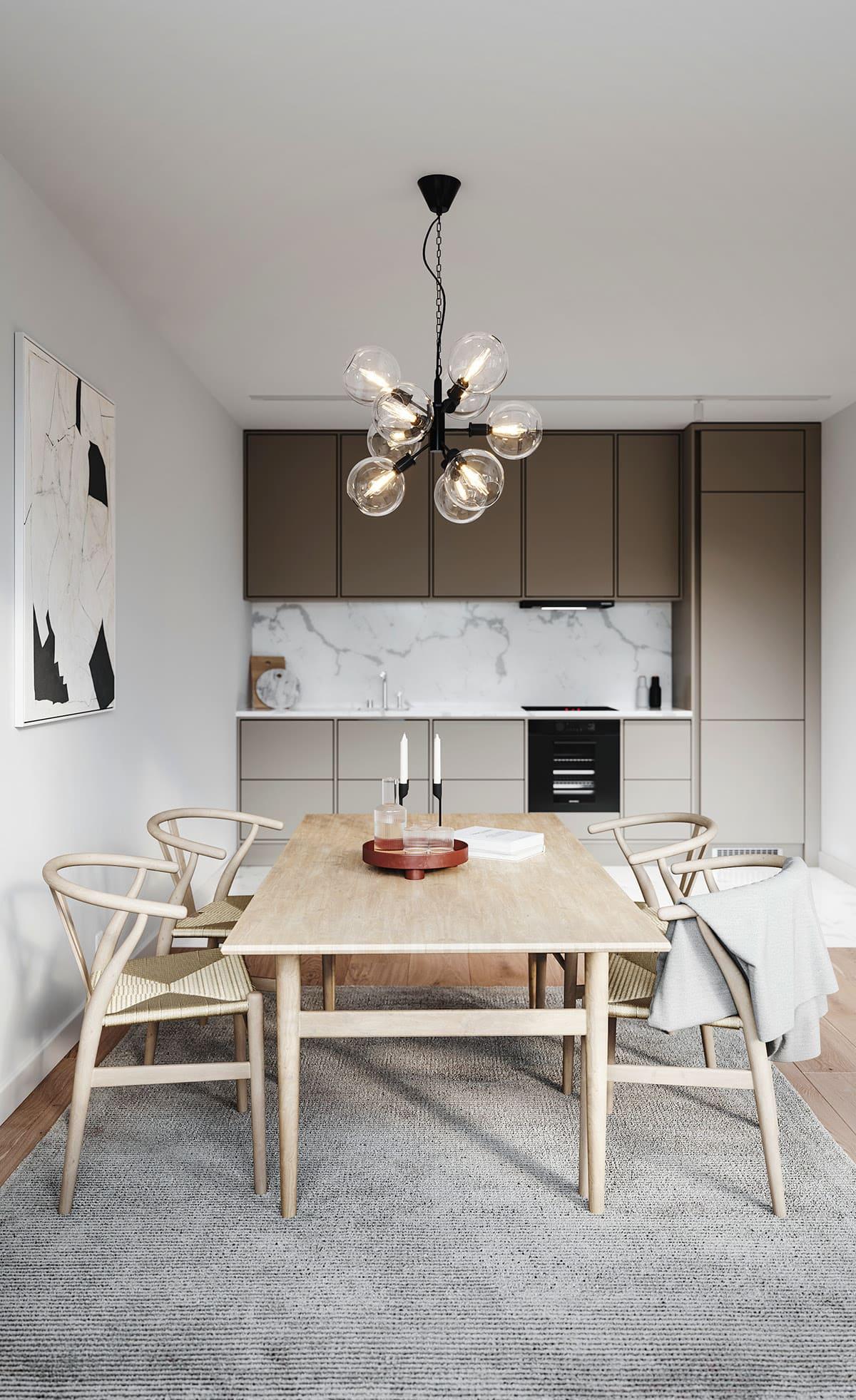 красивый дизайн кухни 3