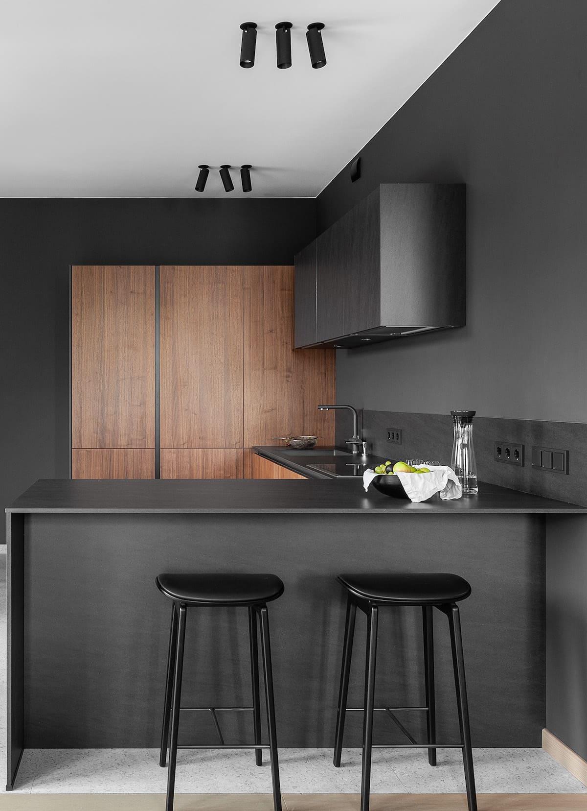 красивый дизайн кухни 96