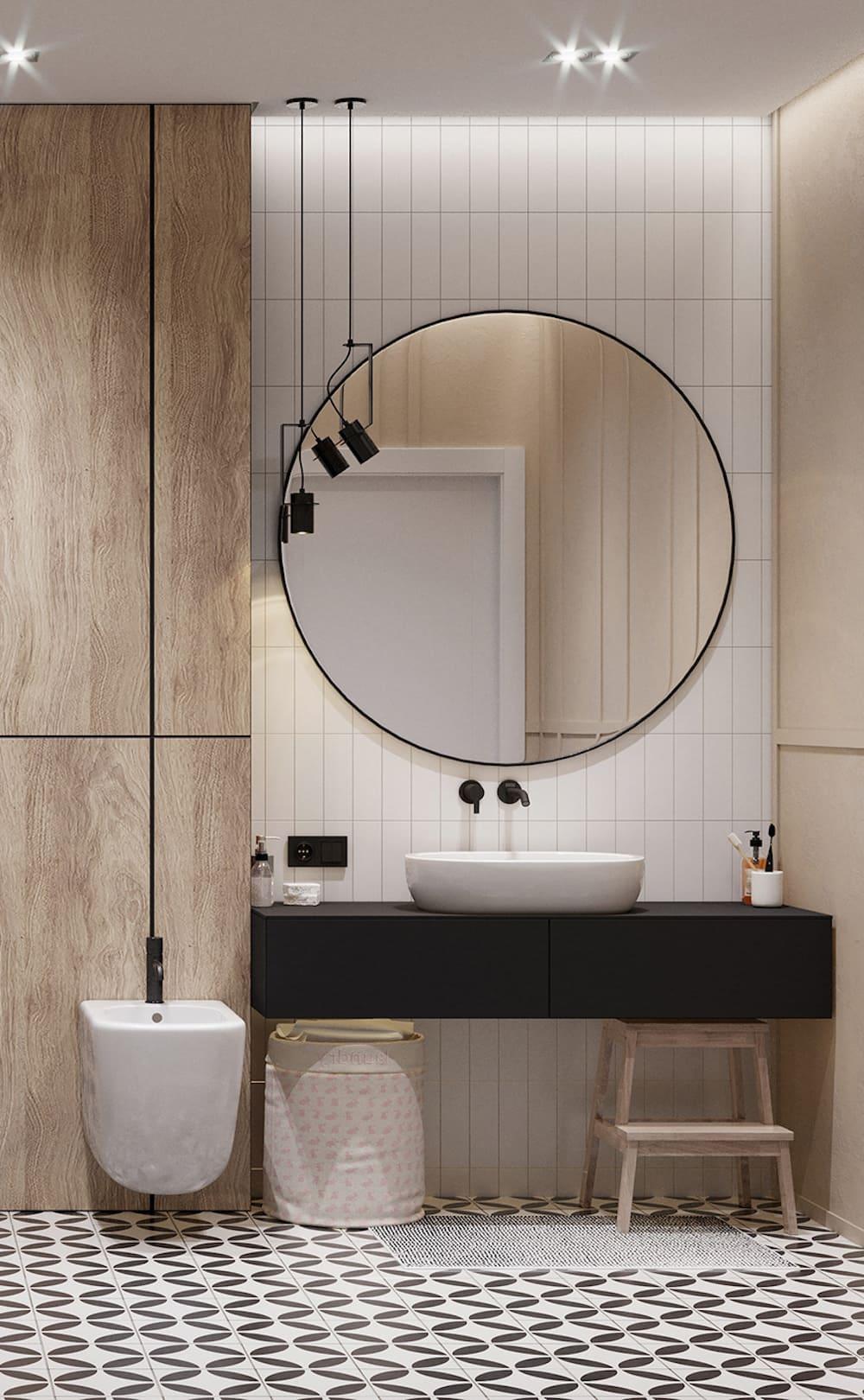 дизайн маленькой ванной фото 90