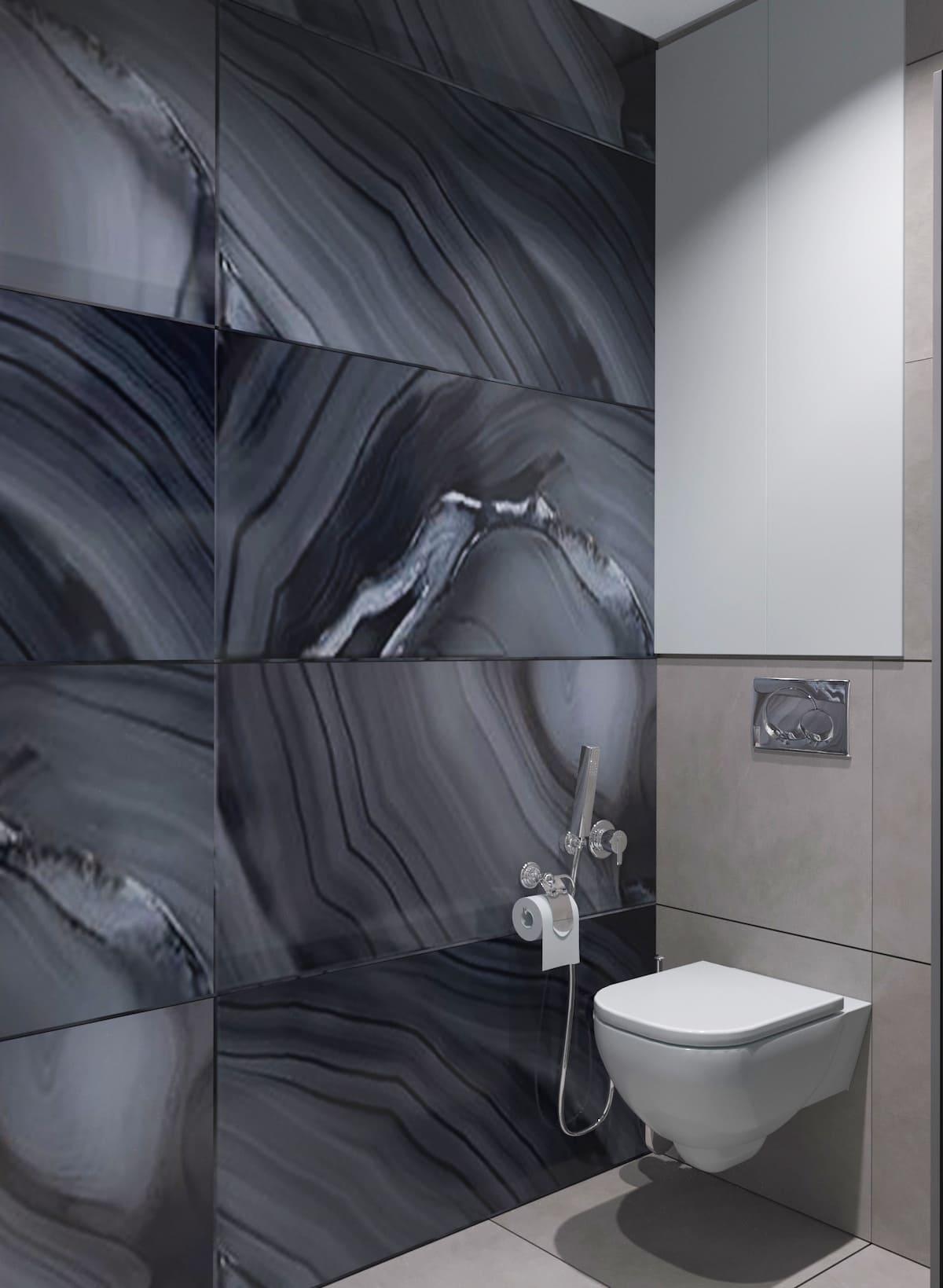 дизайн маленькой ванной фото 85