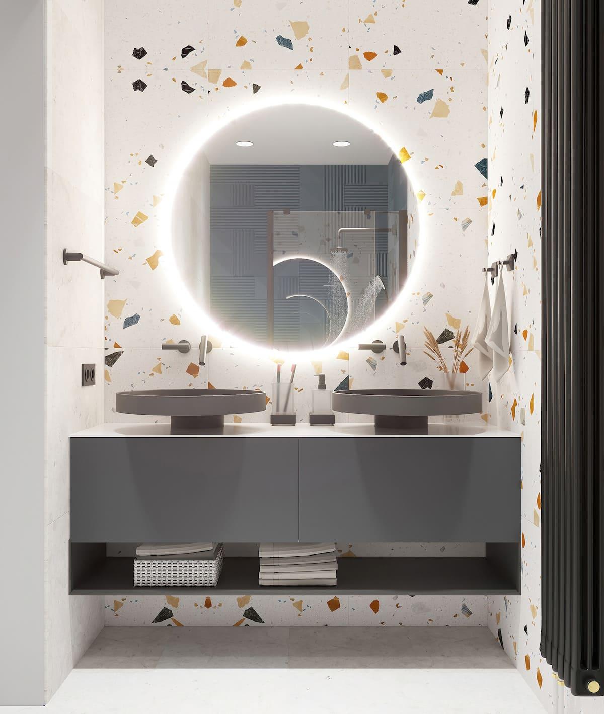 дизайн маленькой ванной фото 49