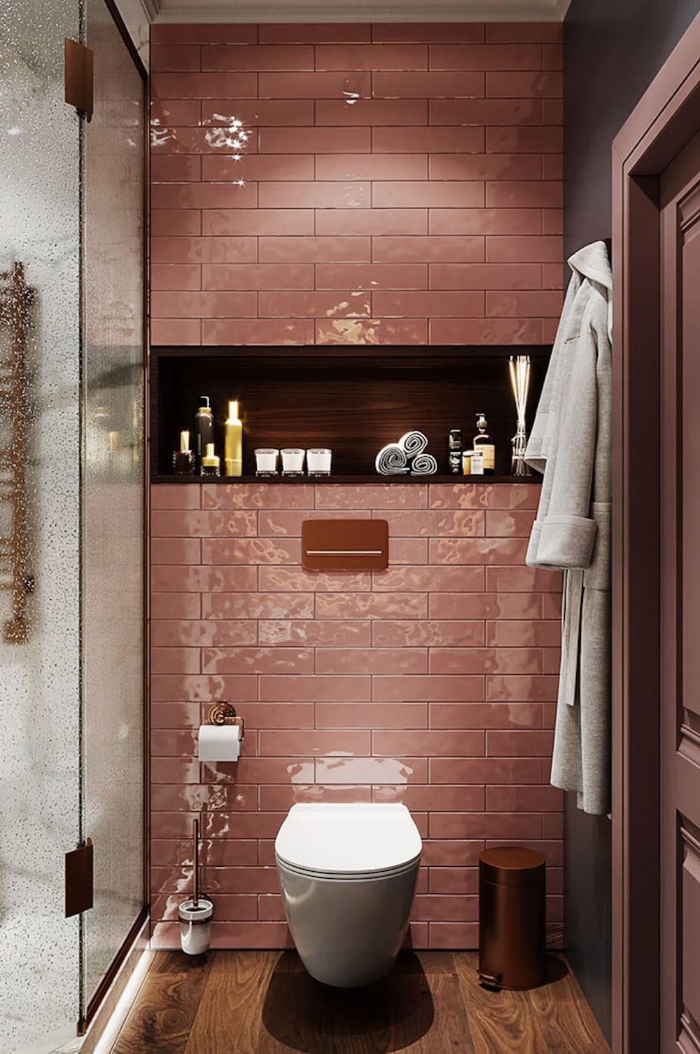 дизайн маленькой ванной фото 16