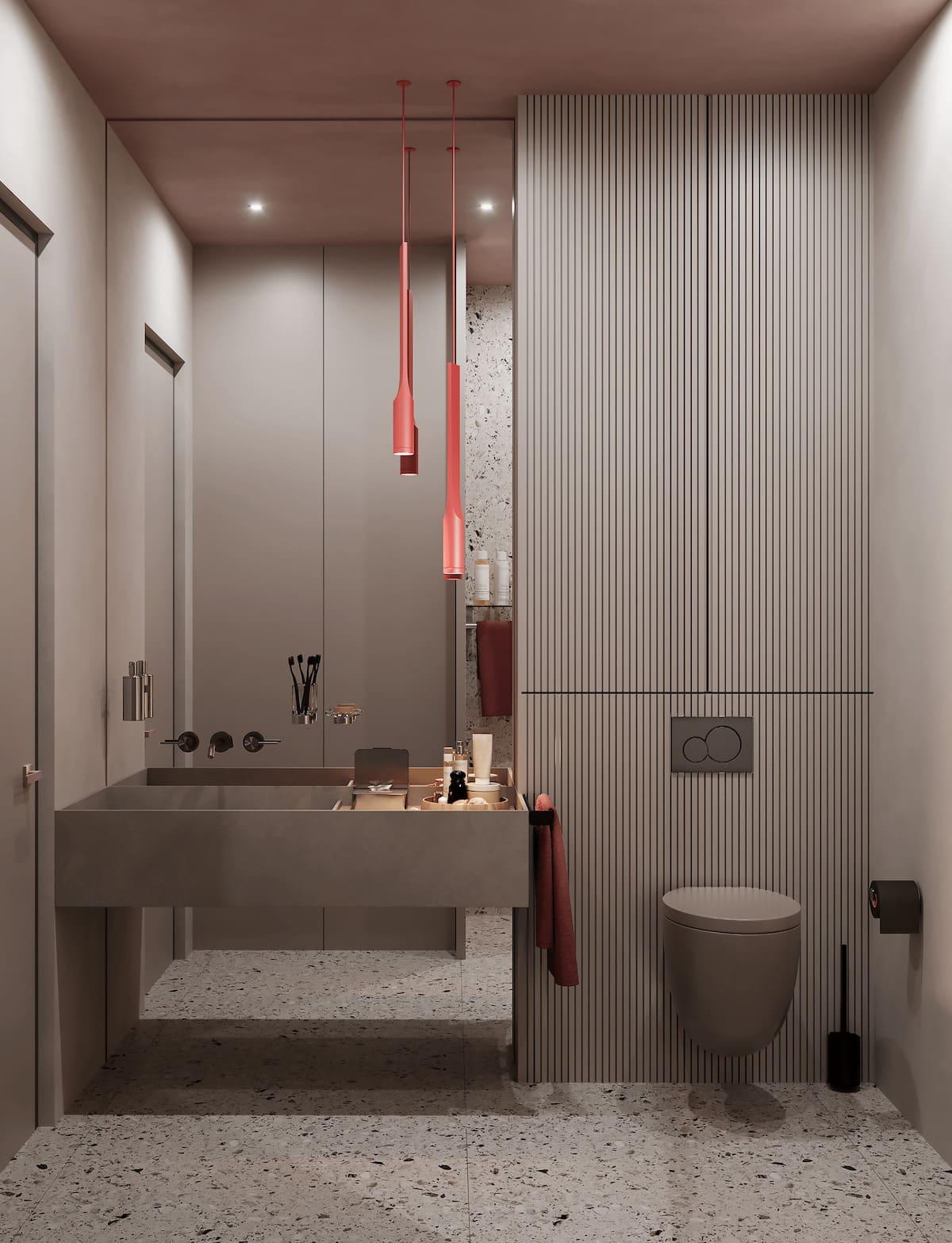 дизайн маленькой ванной фото 19