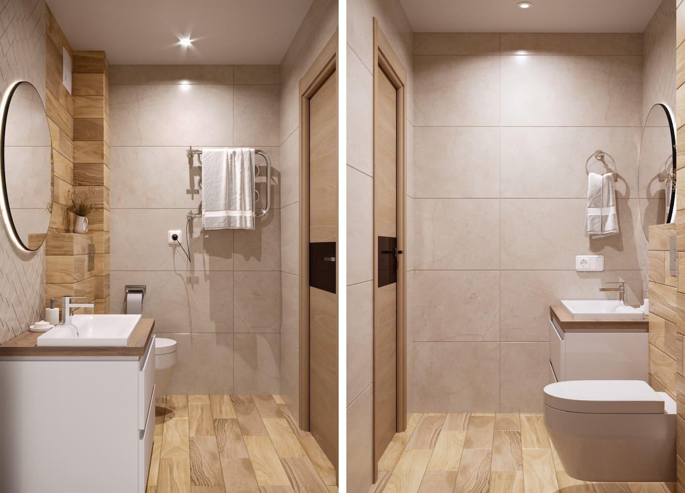дизайн маленькой ванной фото 22