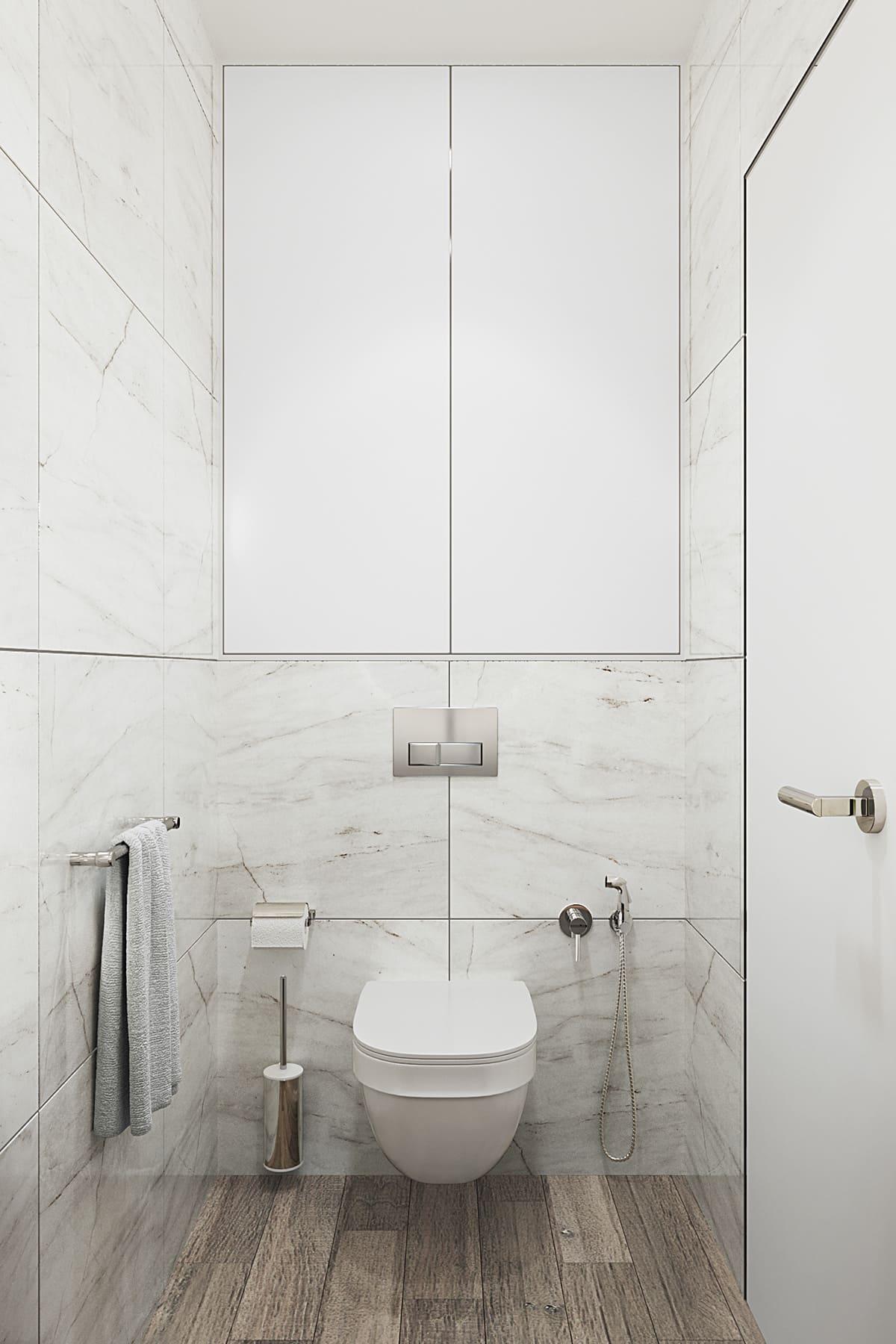 дизайн маленькой ванной фото 24