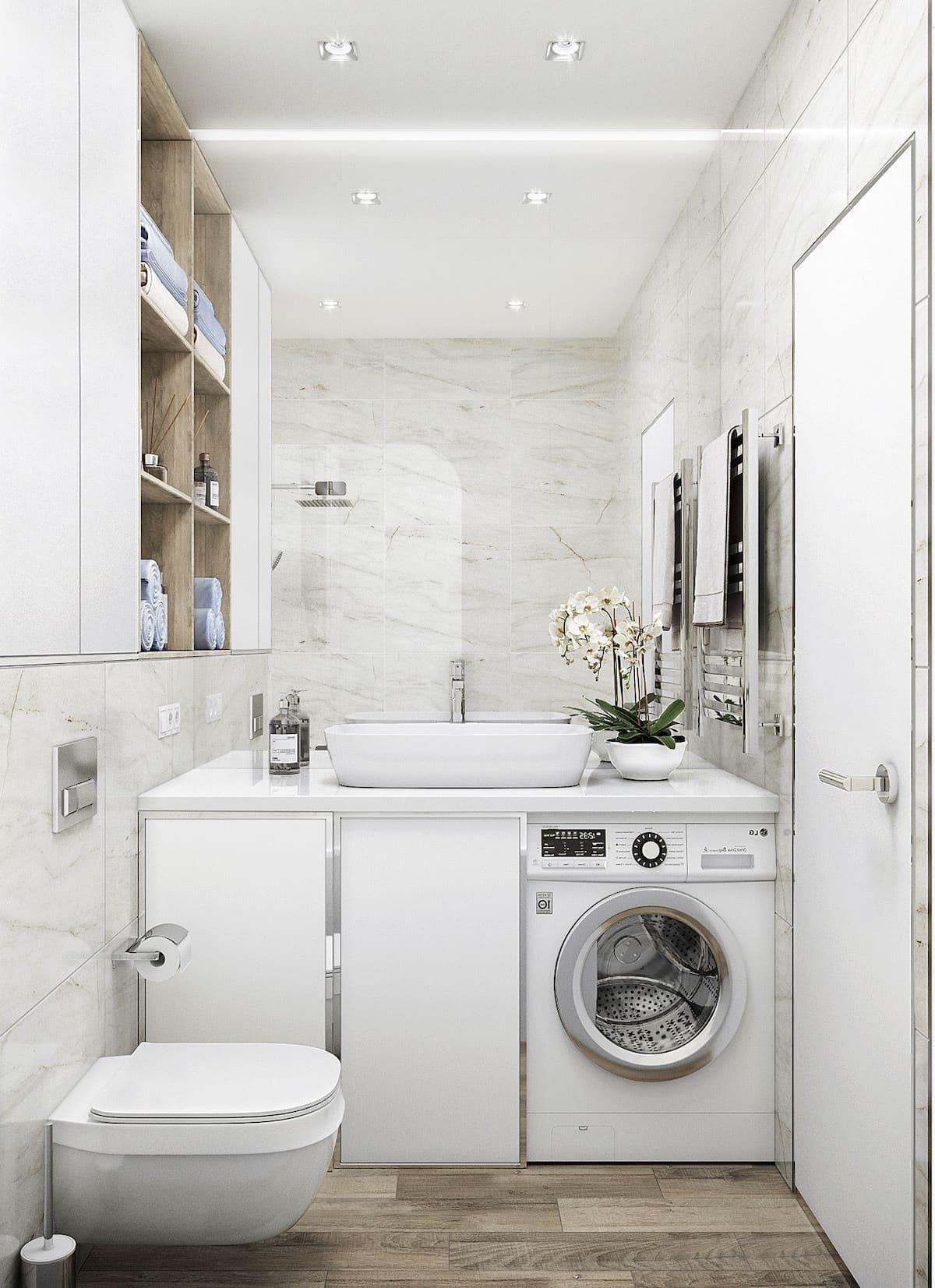 дизайн маленькой ванной фото 26