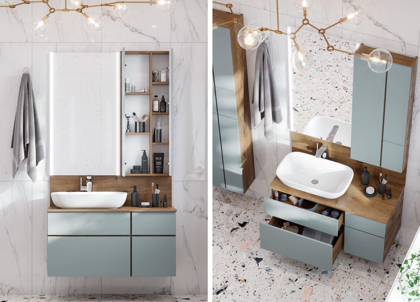 дизайн маленькой ванной фото 42