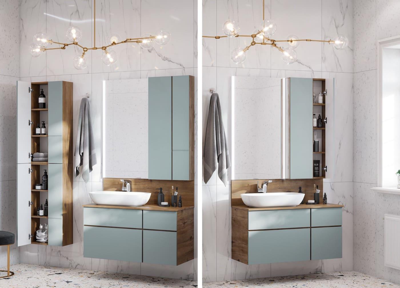 дизайн маленькой ванной фото 43