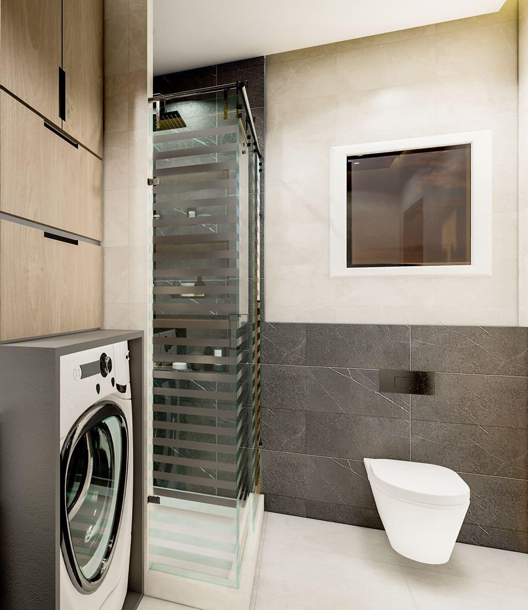 дизайн маленькой ванной фото 71