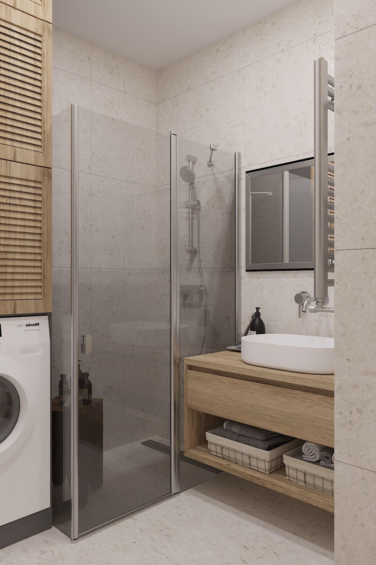 дизайн маленькой ванной фото 28