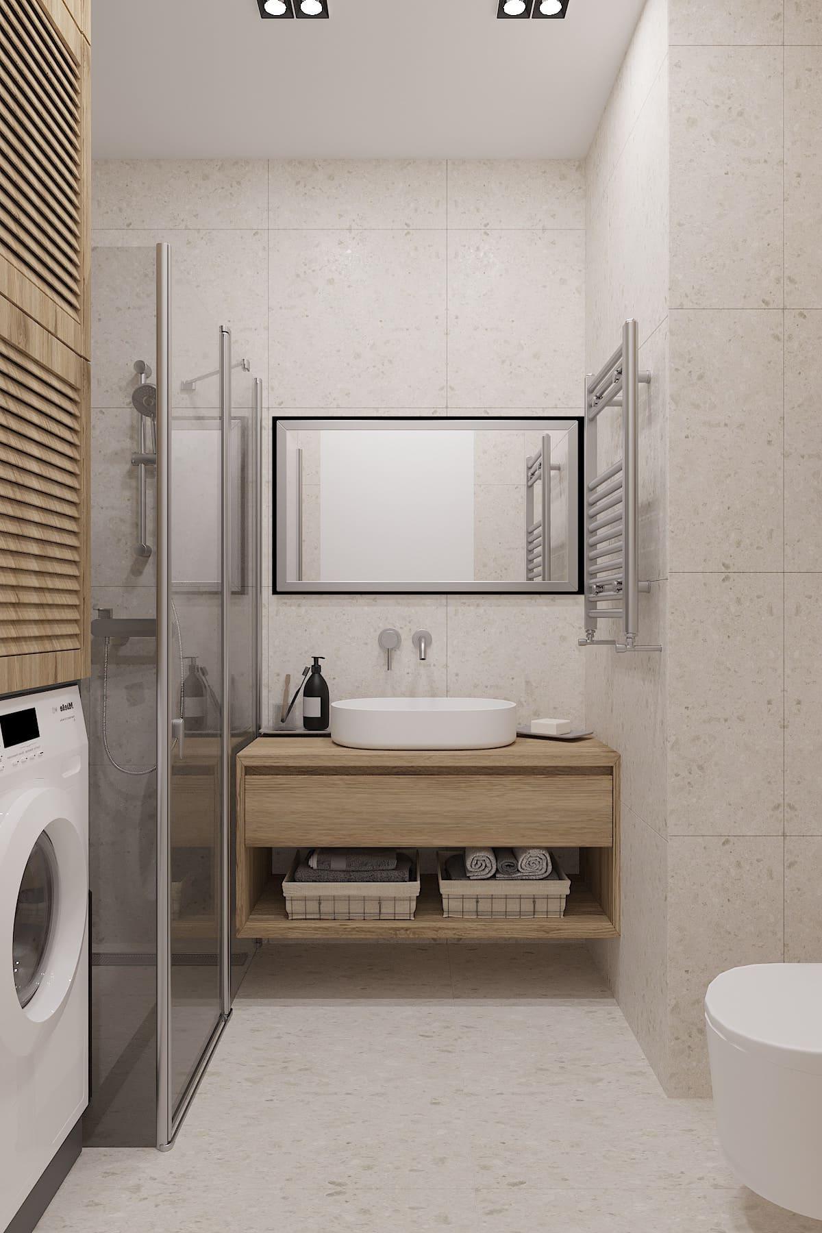 дизайн маленькой ванной фото 29