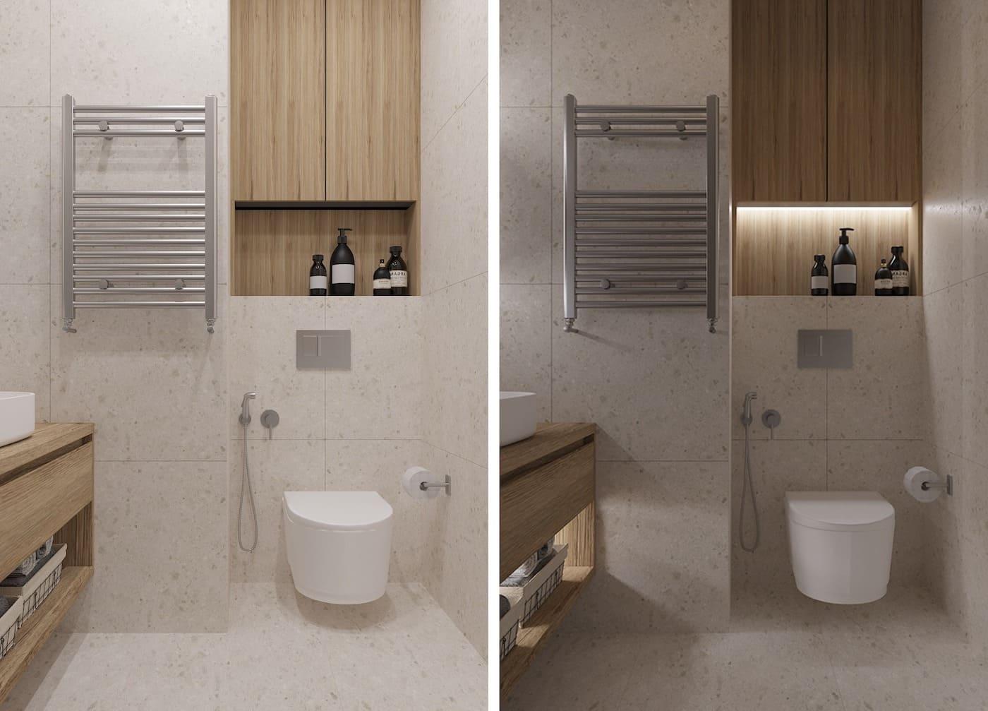 дизайн маленькой ванной фото 31