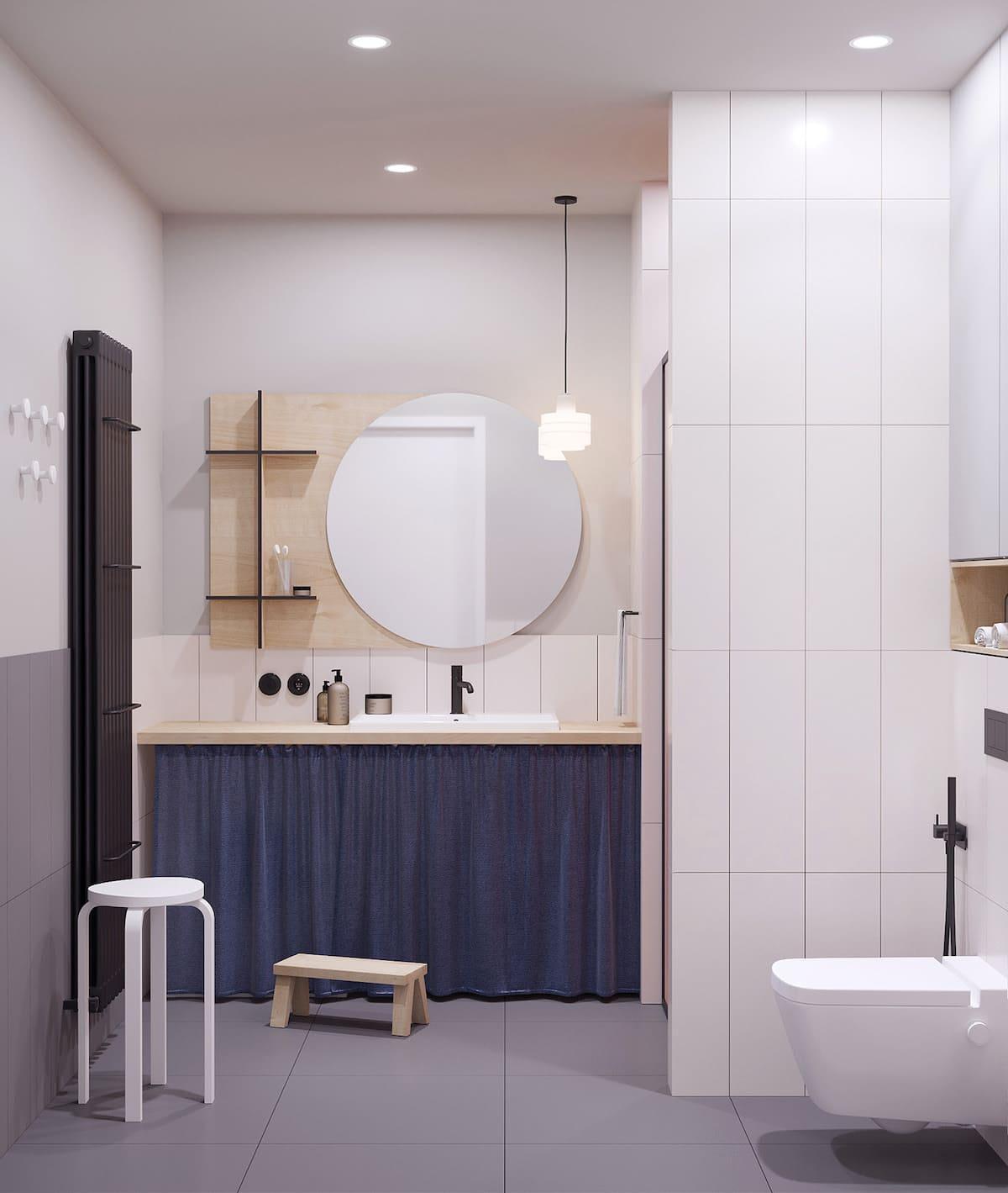 дизайн маленькой ванной фото 34