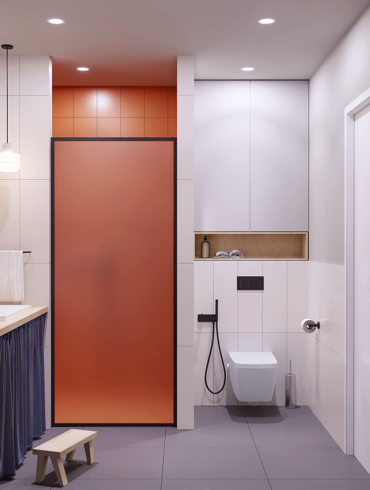 дизайн маленькой ванной фото 35