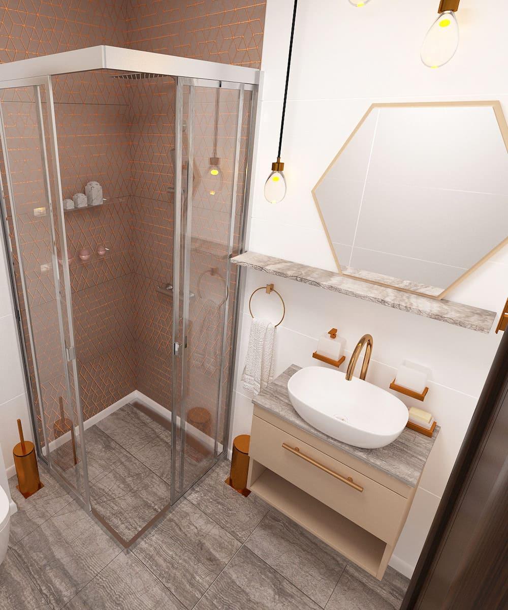 дизайн маленькой ванной фото 11