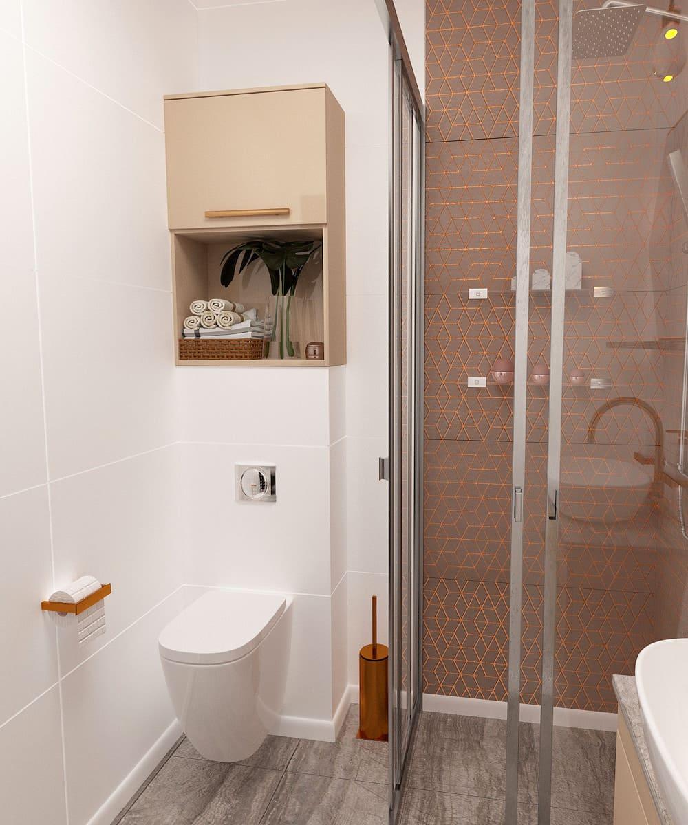 дизайн маленькой ванной фото 12